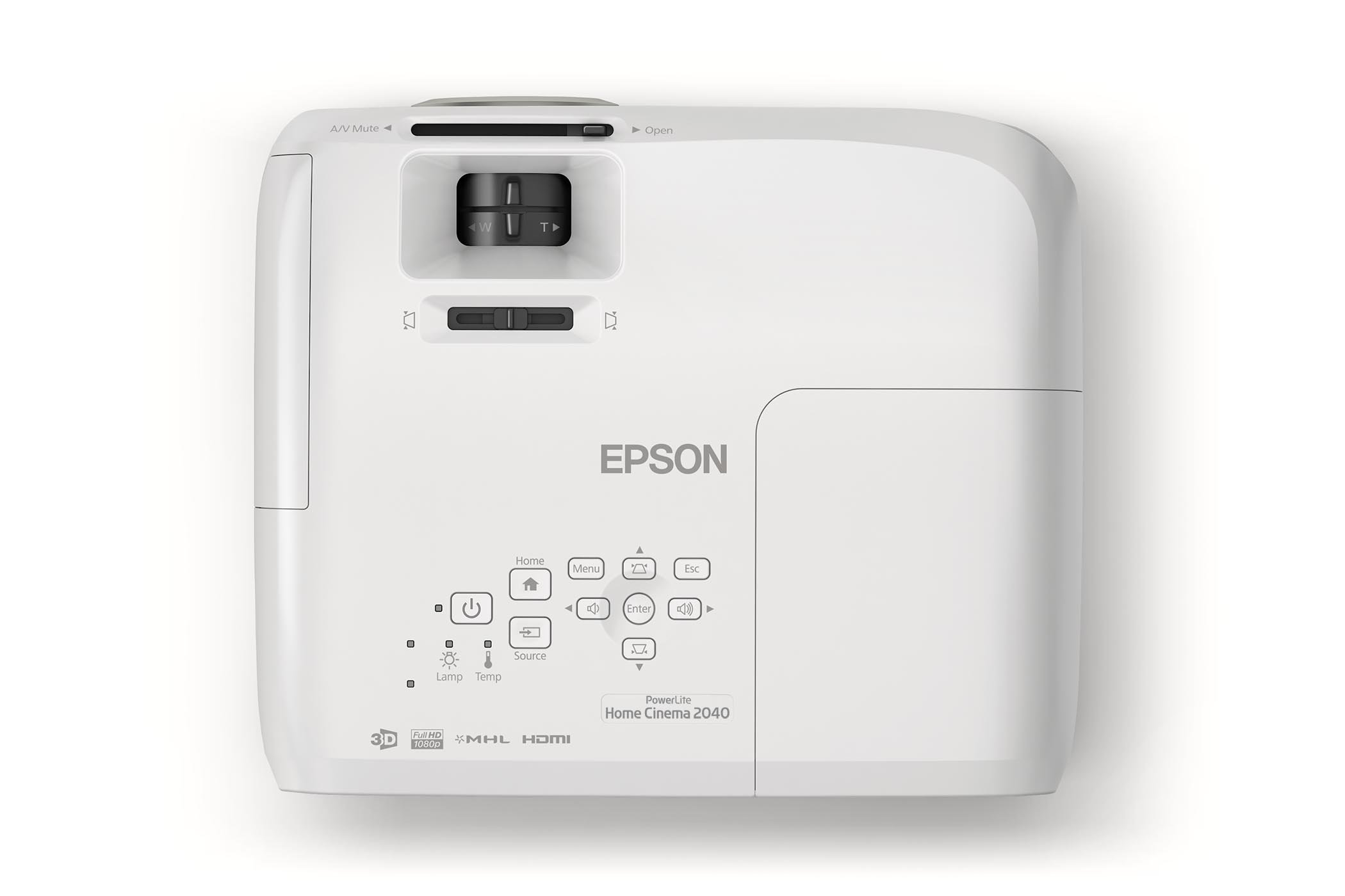 Epson Home Cinema 2040 1080p 3D 3LCD Home Theater Projector by Epson (Image #5)
