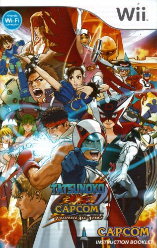 (Tatsunoko vs Capcom - Ultimate All-Stars Wii Instruction Booklet (Nintendo Wii Manual Only - NO GAME) (Nintendo Wii)