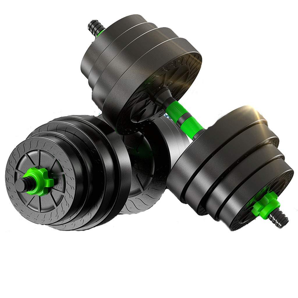大人気 脱着可能なダンベルの男性ホームフィットネス機器バーベルアーム筋肉のペア (サイズ : 20kg 10kg) B07KST1B47 10kg) 20kg (サイズ 20kg, RUBBERSOUL:a8565a4a --- arianechie.dominiotemporario.com
