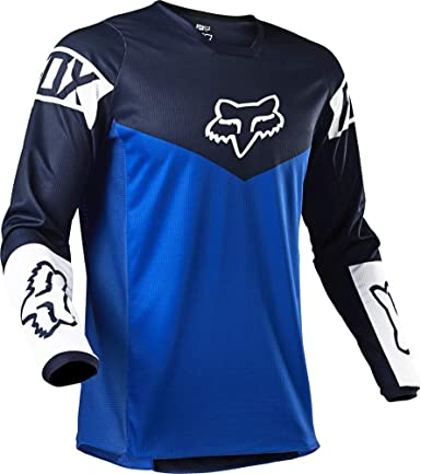Fox 180 Revn Motocross Jersey Blau Bekleidung