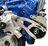 302 power steering pump - Ford Small Block Power Steering Bracket - 289, 302, 351W (Saginaw Pump) - Polished Aluminum
