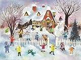 Pinnacle Peak Trading Company Children Snowball Fight German Advent Calendar