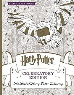 harry potter colouring book celebratory edition the best of harry potter colouring