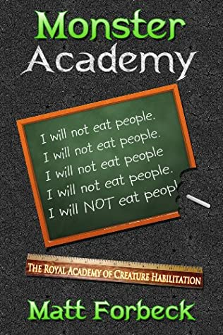 book cover of Monster Academy: I Will Not Eat People
