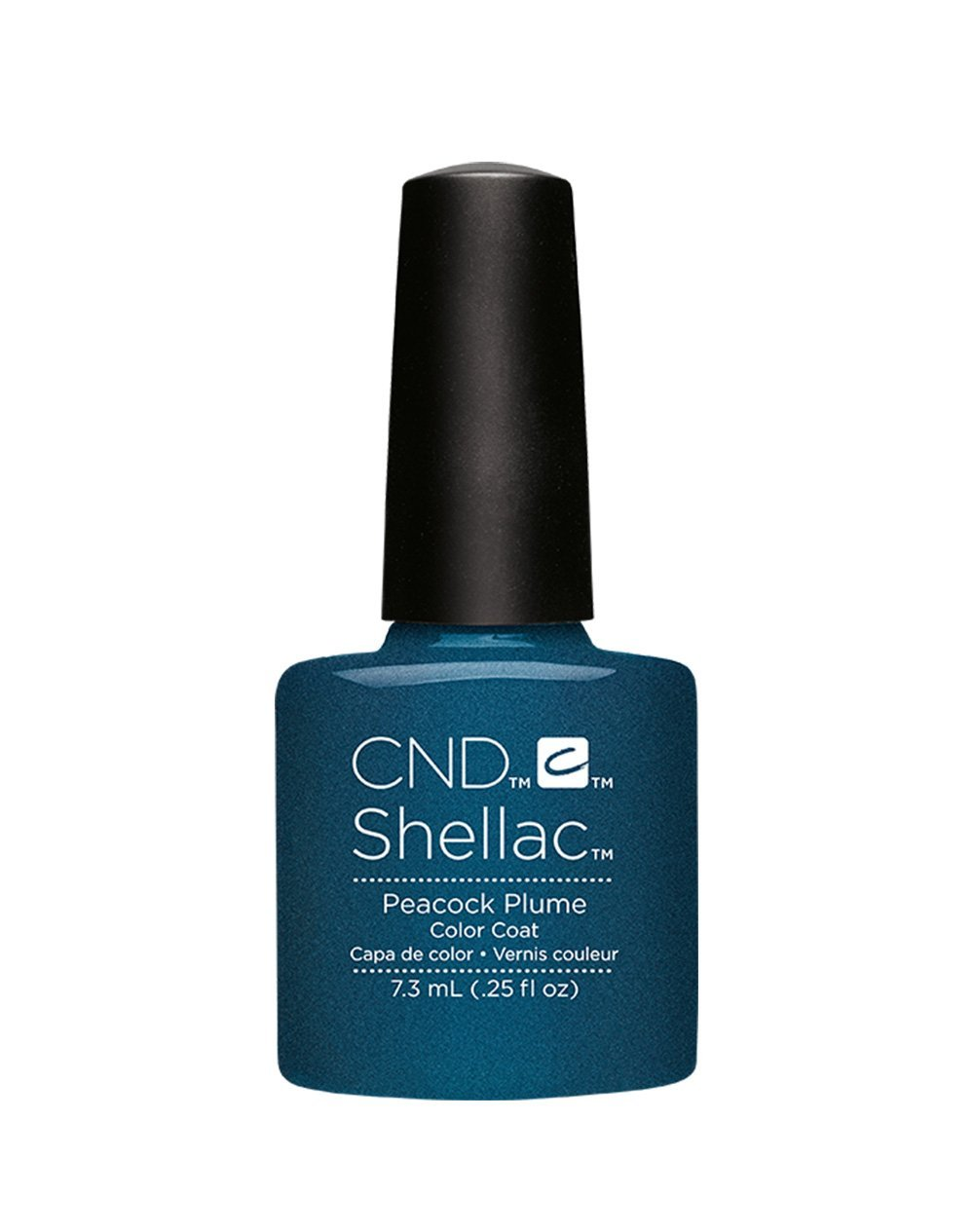 CND Shellac Contradicitons Collection - NEW for Autumn 2015 - UV Soak Off Gel Nail Polish/Varnish (Peacock Plume - 1 bottle) Cnditsecond39