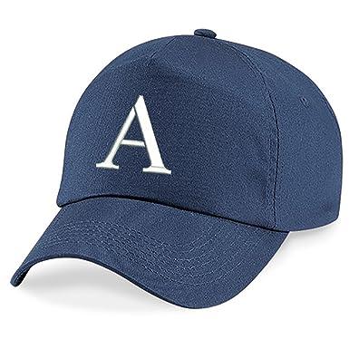 4sold Casquette Garcon Baseball Cap Fille Enfants Chapeau Bonnet Unisexe  Bleu Marin A-Z Alphabet (A)  Amazon.fr  Vêtements et accessoires 5a8cc5e2be4