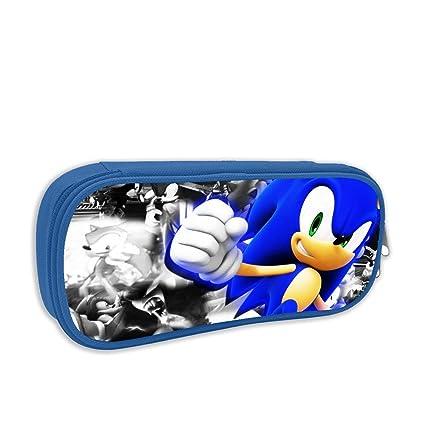 16f3f9d4b950 Amazon.com : FHTD Sonic Forces Pencil Pouch Big Capacity Pencil Bag ...