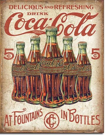 New Drink Coca Cola Coke at Fountains and in Bottles 16