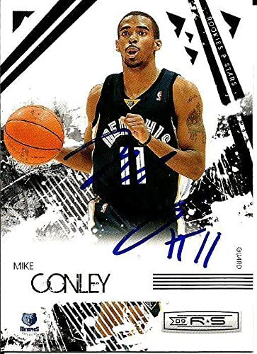 Mike Conley Signed Basketball Trading Card Rookie