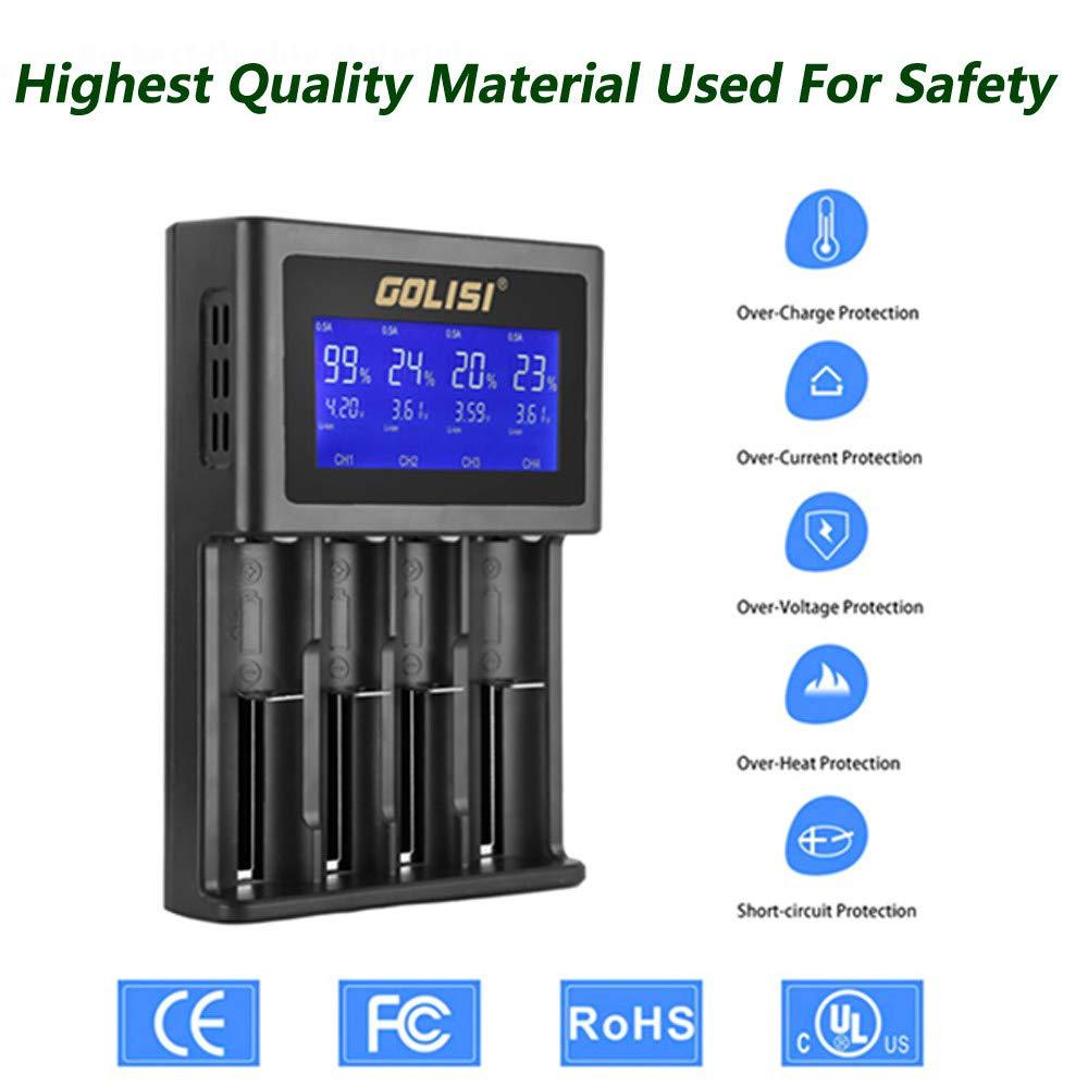 Amazon.com: Huangou ❤❤ Cargador de batería ❤ Golisi S4 ...
