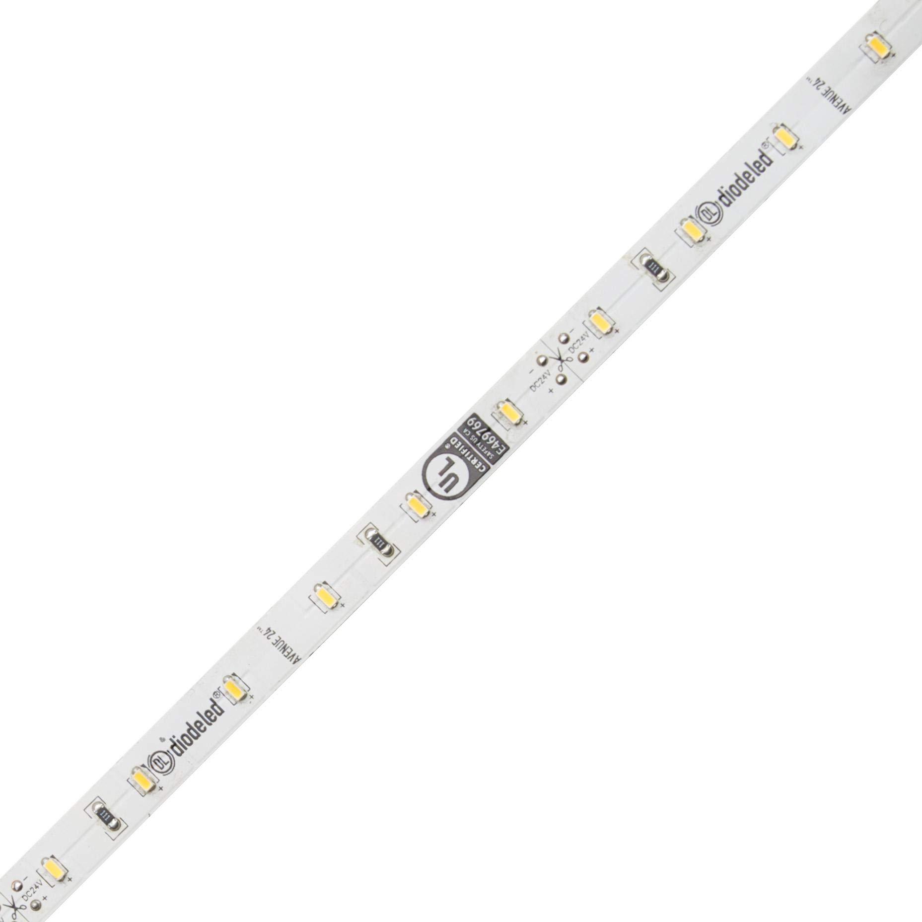 Diode LED Avenue 24 Premium 24V LED Tape Light 90 CRI 3000K 40ft 2.09W/ft