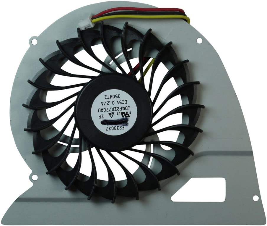 Power4Laptops Replacement Laptop CPU Fan for Sony Vaio SVF15A, Sony Vaio SVF15A15STB, Sony Vaio SVF15A16CXB, Sony Vaio SVF15A18CXB, Sony Vaio SVF15A1A4E