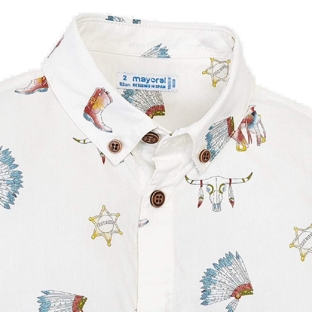 aba117c5f Mayoral Camisa Manga Corta Estampada niño Modelo 3133  Amazon.es  Ropa y  accesorios