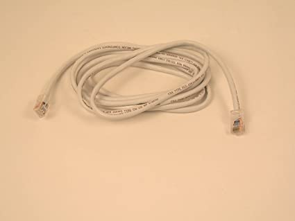 Belkin 50ft Cable Patch CAT5-UTP 4PR RJ45M WHT (A3L791-50-WHT