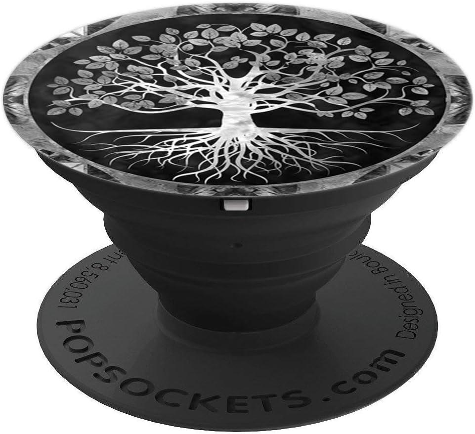 Tree of Life Yggdrasill PopSockets Support et Grip pour Smartphones et Tablettes Arbre de vie