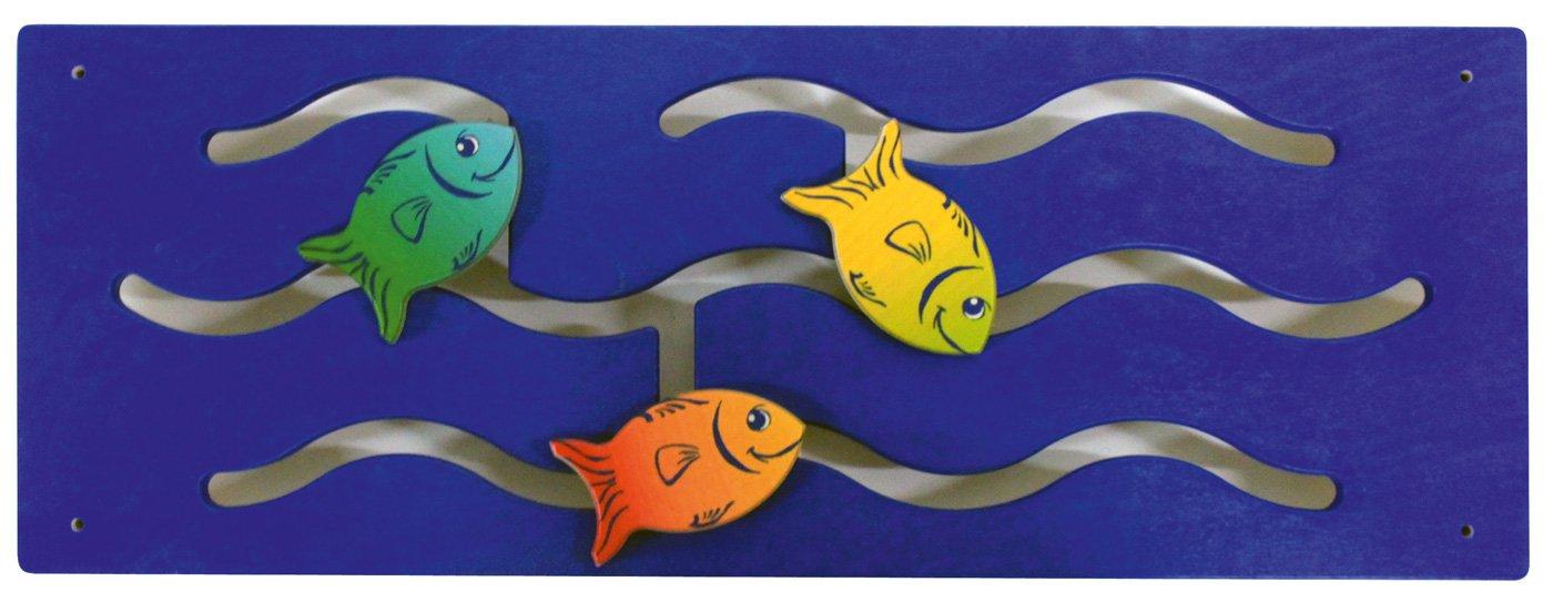 Wandspiel Fische mit schiebbaren Fischen