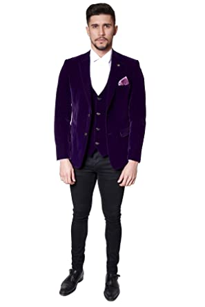 Marc Darcy - Blazer - Blazer - para hombre morado morado 46 normal ...