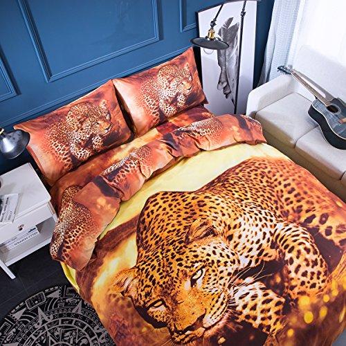 Leopard Print Duvet Covers - 9