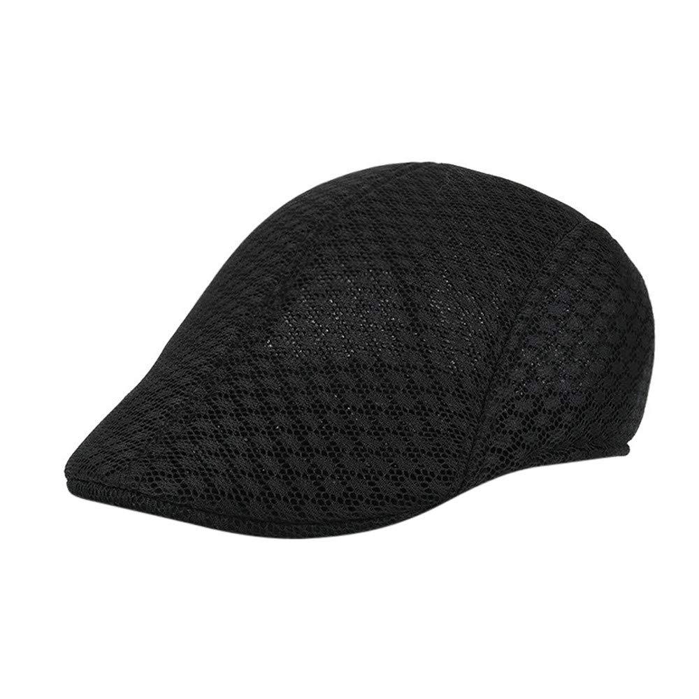 Styledresser Inverno cap Uomini Traspirante Maglia Newsboy Cappelli Berretto Caps Cappello Uomo Cotone 4.37