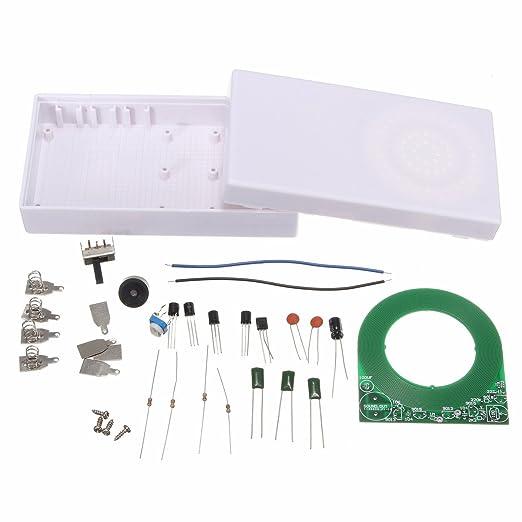 Ils - Detector de Metales de Metal de localizació de la Seguridad de inspeccionar electróica DIY Componente Junta Kit: Amazon.es: Electrónica