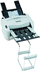 "Martin Yale P7400 RapidFold Automatic Feed Desktop Folder, Feed Tray Holds up to 50 Sheets of Paper, Folds 8 1/2"" x 11"" and 8 1/2"" x 14"", Folds up to 3 Sheets"