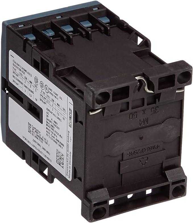 1NO+1NC Siemens 3RT20241AP60 CONTACTOR 240V 60HZ 3-Pole 5.5KW//400V SZ S0 Screw Terminal AC 220V 50HZ