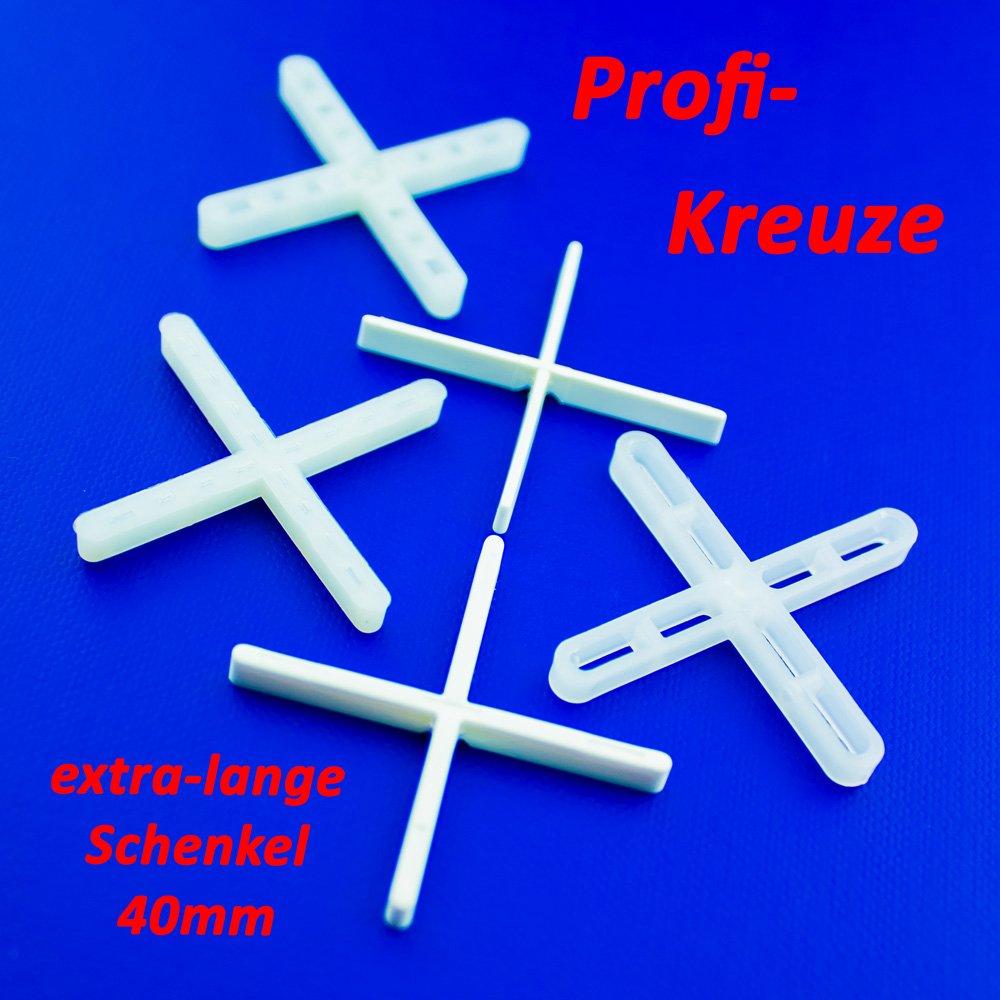 2 mm 10000 Fliesenkreuze  Fugenbreite Fliesenabstandhalter Fugenkreuze Neu