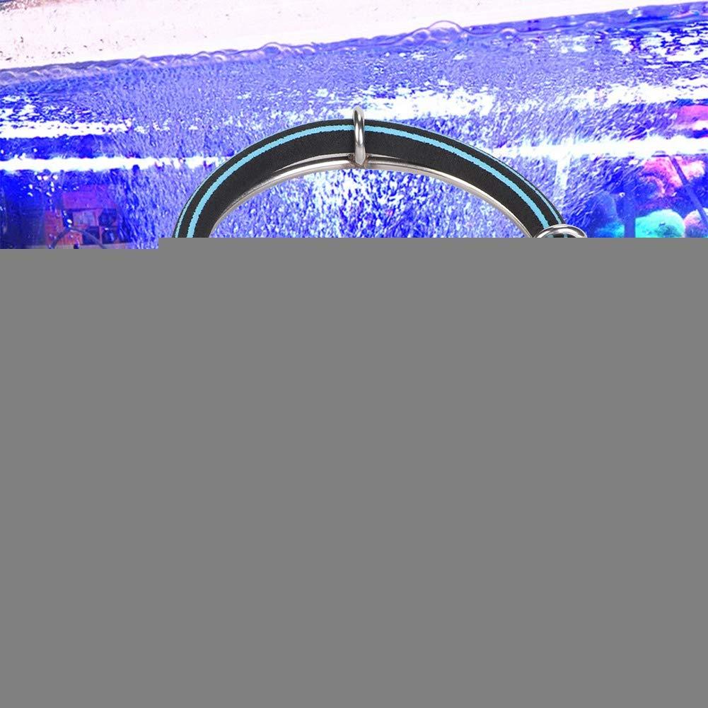 Single Ring Dia 25cm Pssopp Aquarium Round Air Bubble Diffuser Ring Fish Pond Oxygenation Bubbler Aquarium Aerator Bubble Stone Aquarium Air Stone Disc Fish Tank Bubble Generator