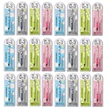 0.3mm Ultra-Slim Thin Mechanical Pencil, Rotating Automatic Pencil, Office & School Stationery
