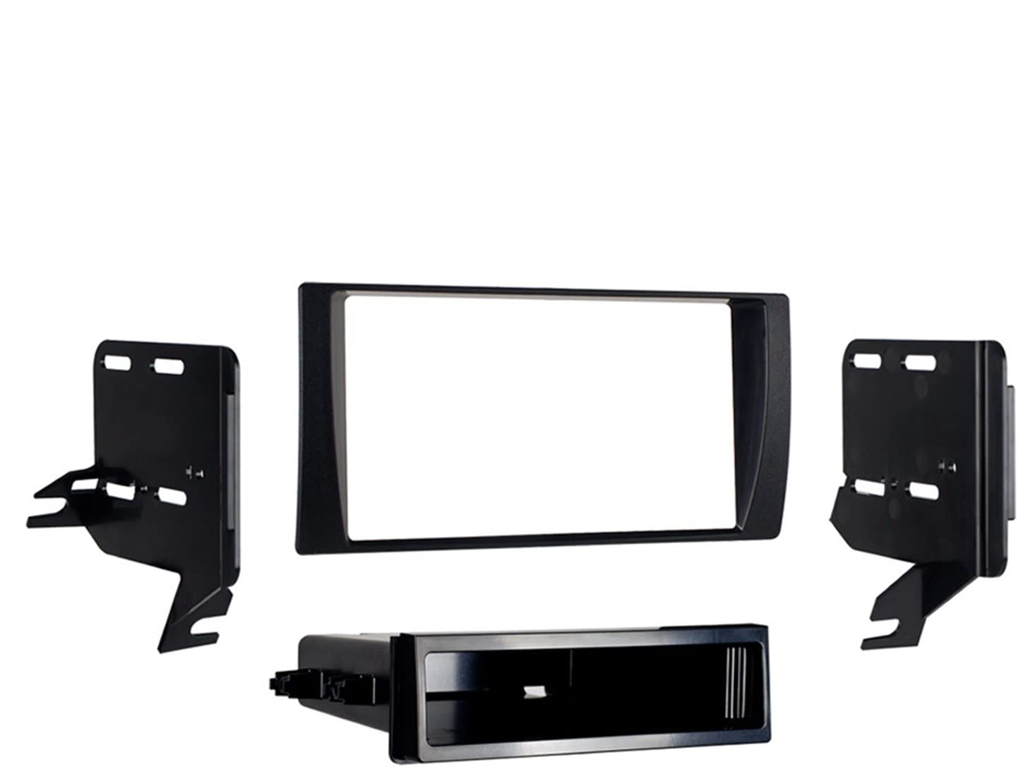 Metra 99-8231 Single or Double DIN Installation Dash Kit for 2002-2006 Toyota Camry: Car Electronics