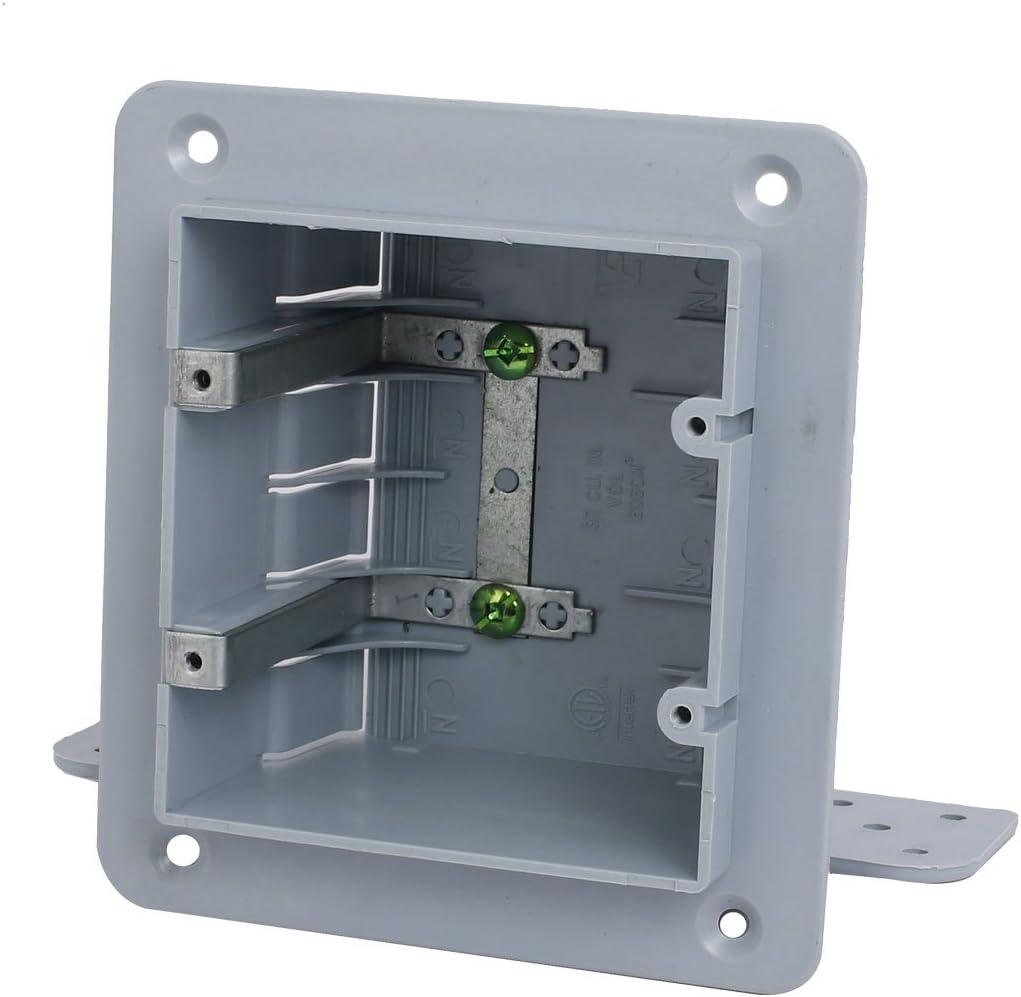 Aexit 140mmx165mmx70mm Caja de tomacorriente de salida de empalme eléctrico de 2 bandas Caja de (model: C9067IXII-3937DH) montaje en superficie: Amazon.es: Bricolaje y herramientas