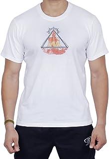 maglietta in cotone 100% Comfort Fit per la meditazione Yoga Esecuzione di atleti sportivi a per il corpo, maglietta manica corta a girocollo tondo per i regali di Storeindya