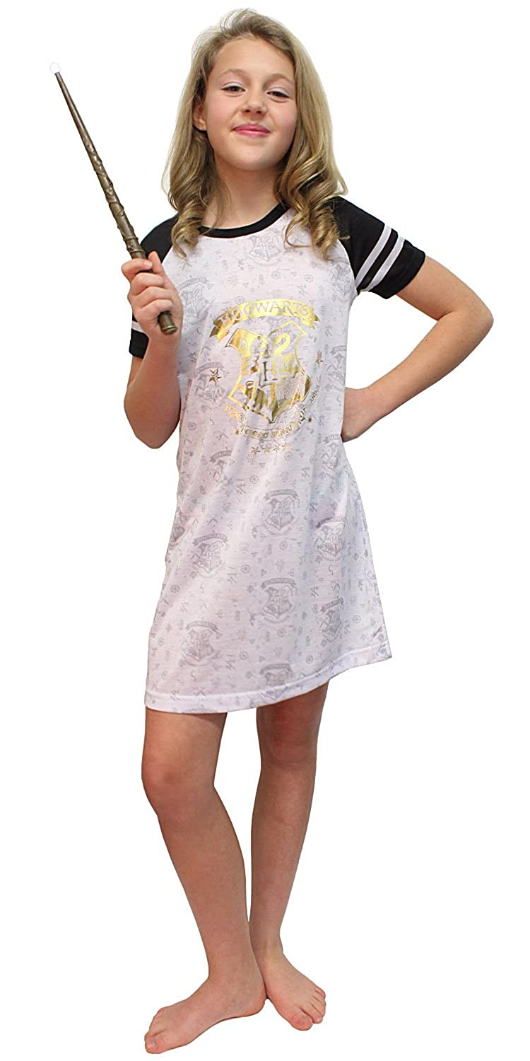 Harry Potter Intimo Big Girls I Solemnly Swear Shoulder Cut Out Nightgown