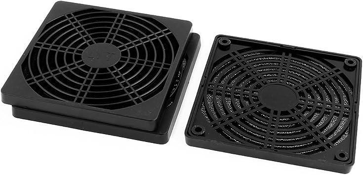 Aexit 3pcs 125mm Fans /& Cooling x 125mm Dustproof Case PC Computer Case Fan Case Fans Dust Filter