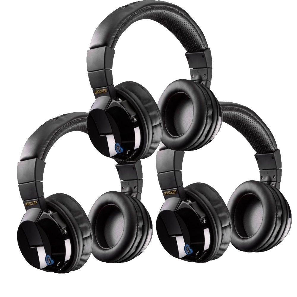 Kicker Tabor Bluetooth bundle - Includes three pairs of Kicker Tabor wireless headphones