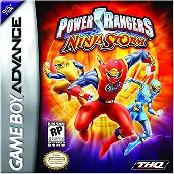 Amazon com: Power Rangers Ninja Storm: Video Games
