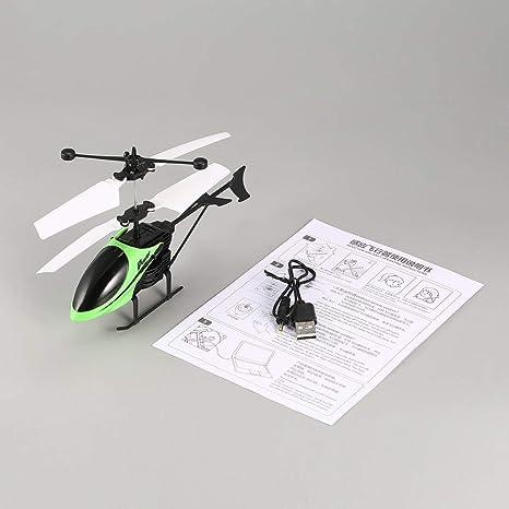 D715 Flying Mini Inducción infrarroja RC Helicóptero Drone Aviones ...