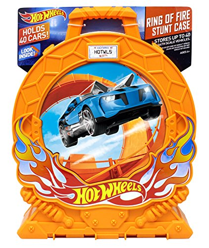 Hot Wheels Carrying Case (Hot Wheels Ring of Fire 40-Car Storage Case w/Carrying Handle)