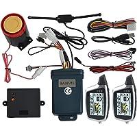 BANVIE Sistema de Alarma para Motocicleta de 2