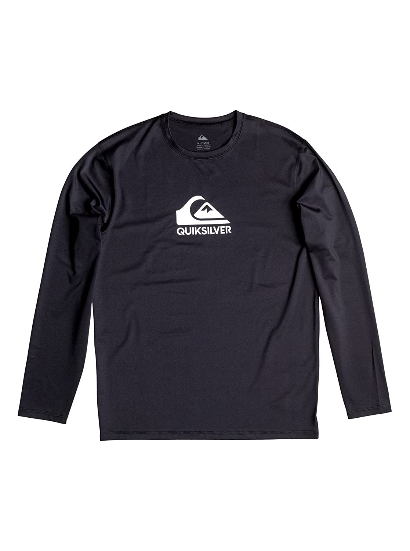 f7b9f16f7c60 Amazon.com: Quiksilver Men's Solid Streak Long Sleeve Rash Guard: Clothing