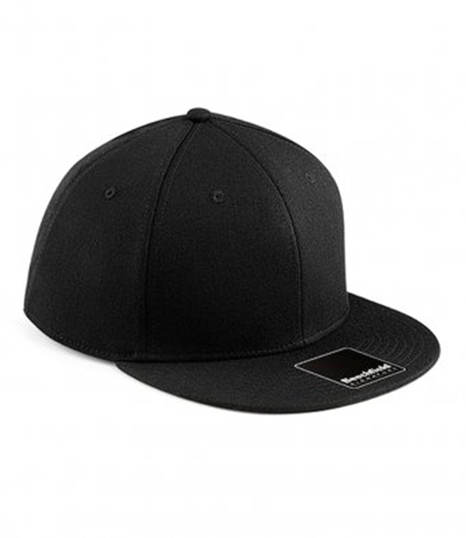 Beechfield Color Negro Ajustable Gorra de béisbol visera plana  Talla Small(55cm) Venta c9de88962dc