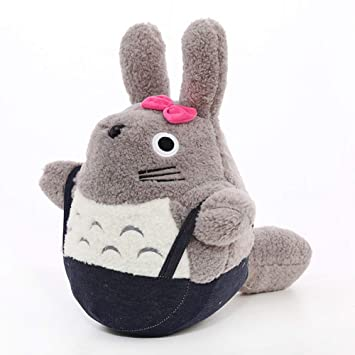 Yahpy 35-55 cm Lindo Totoro Felpa Animales Peluche muñeca ...