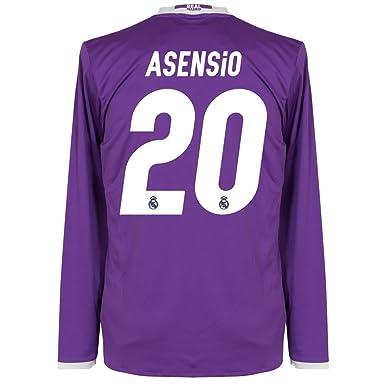 Camiseta de manga larga de la segunda equipaci oacute n del Real Madrid   quot Asensio 816eafa5e9733