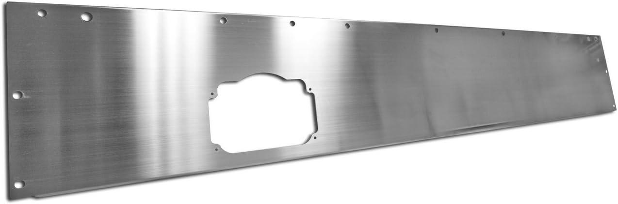 Rugged Ridge 11144.10 Silver Stainless Steel Dash Panel