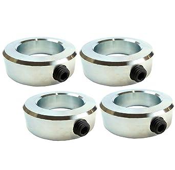 Free standard shipping! zinc plated. 1-7//16 set shaft collar Qty 10