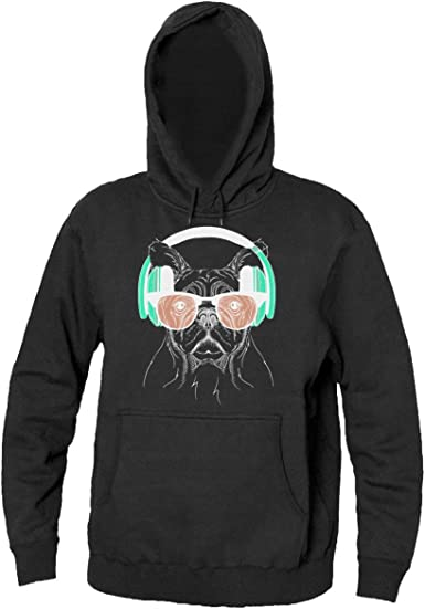 Dog With Glasses Men/'s Sweatshirt