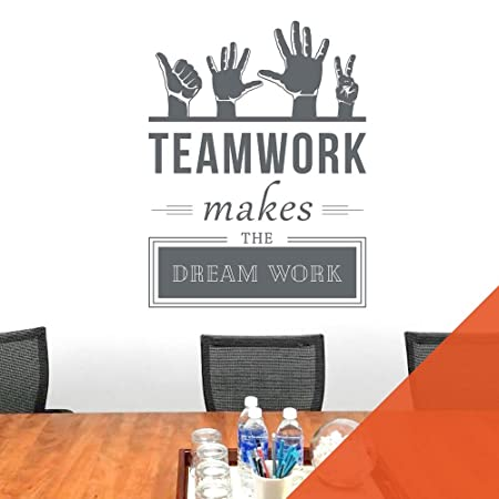 Teamwork Makes The Dreamwork - Company Office, Conference Room ...