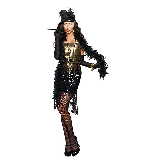 Amazon.com  Dreamgirl Women s Dazzle Me Costume  Clothing 0a1247ecf