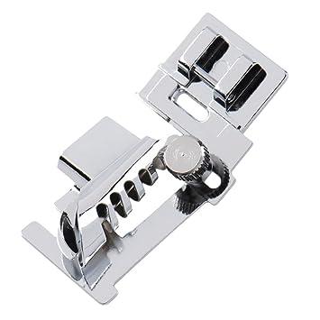 Welecom hogar prensatela de máquina de coser piezas de pie Cartón pie bajo filo herramientas: Amazon.es: Hogar