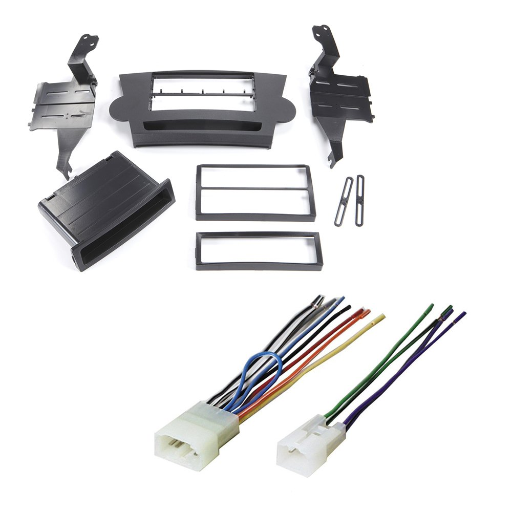 Toyota Highlander Car Stereo Dash Installation Mounting Jeep Jk Gps Wiring Trim Kit W Wire Harness Electronics